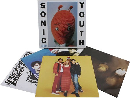 Sonic Youth Dirty (4LP deluxe box) Vinyl-Boxset- Bingo Merch Official Merchandise Shop Official