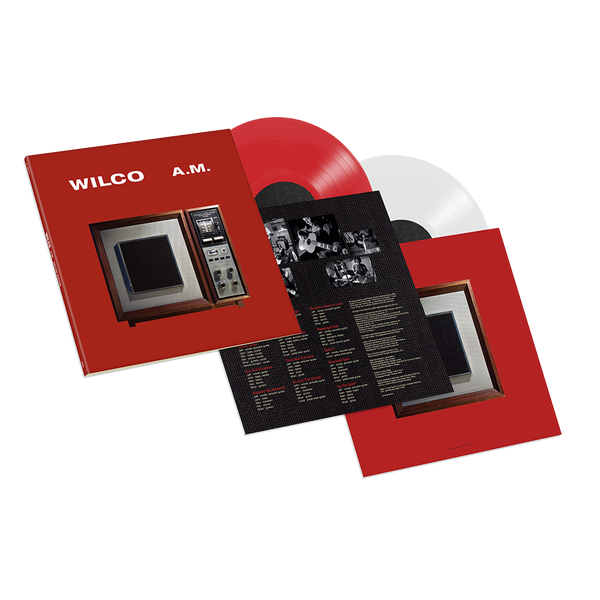 Wilco A.M. Deluxe Edition (2LP Color Vinyl) LP- Bingo Merch Official Merchandise Shop Official