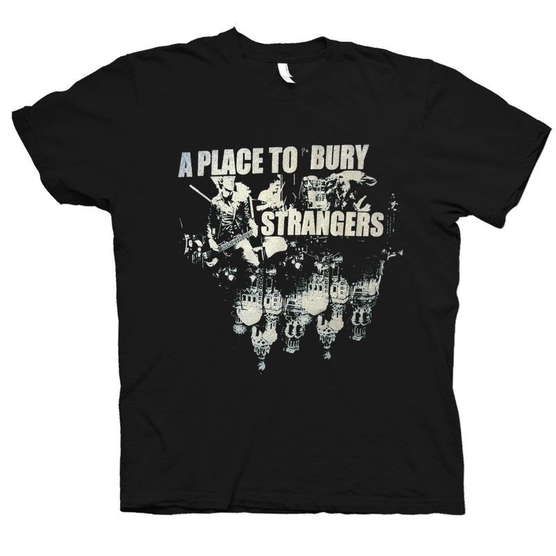 A Place To Bury Strangers Russia T-Shirt- Bingo Merch Official Merchandise Shop Official