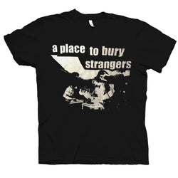 A Place To Bury Strangers Stage T-Shirt- Bingo Merch Official Merchandise Shop Official