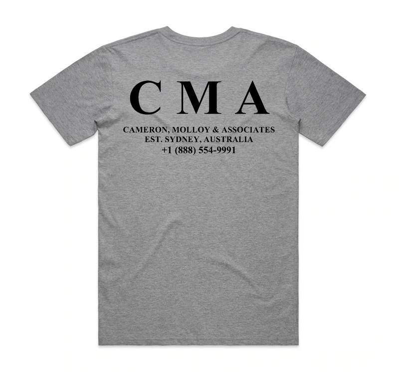 Alex Cameron CMA T-Shirt- Bingo Merch Official Merchandise Shop Official