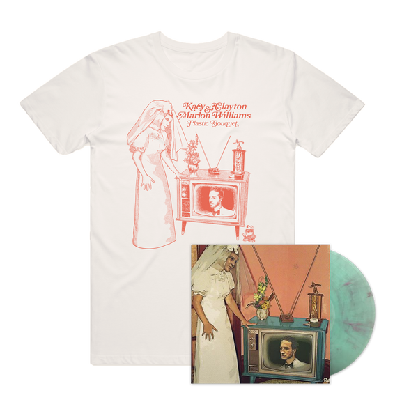 (PRE-ORDER) Plastic Bouquet Colour LP and T-Shirt Bundle