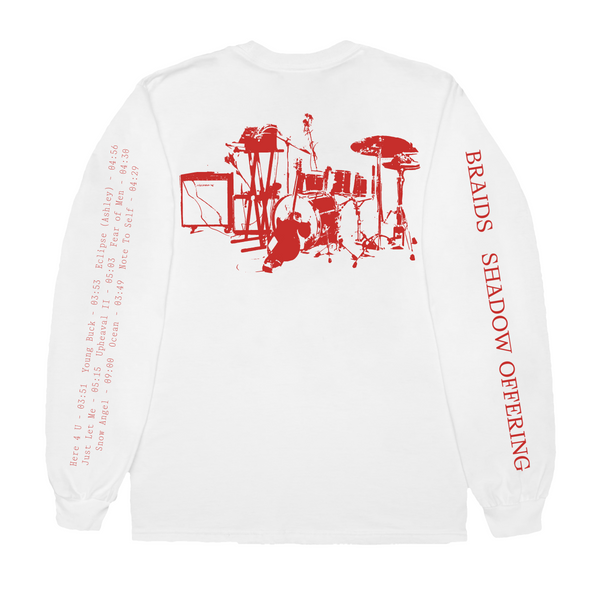 Braids (PRE-ORDER) 'Floral' Deluxe Longsleeve - Bingo Merch Official Merchandise Shop Official