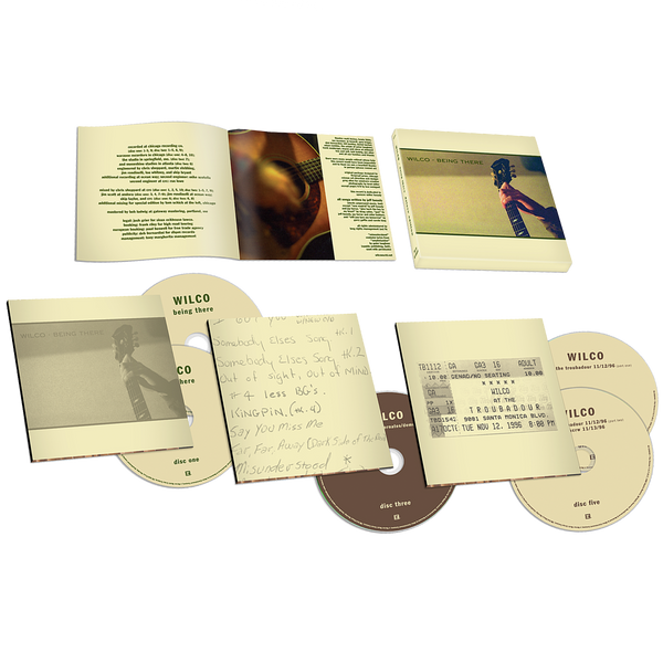 Wilco Being There Deluxe Edition (5CD) CD- Bingo Merch Official Merchandise Shop Official