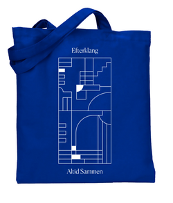 Efterklang Altid Sammen Totebag Blue Totebag- Bingo Merch Official Merchandise Shop Official