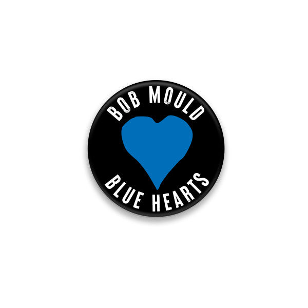 Bob Mould (PRE-ORDER) Blue Hearts Button #2 Pin Badge- Bingo Merch Official Merchandise Shop Official