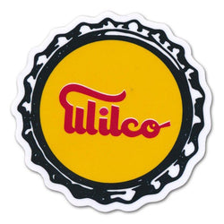 Wilco Bottlecap Sticker Sticker- Bingo Merch Official Merchandise Shop Official