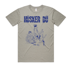Hüsker Dü Hüsker Dü X Brian Wallsby T-Shirt- Bingo Merch Official Merchandise Shop Official