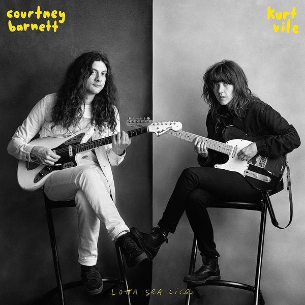 Courtney Barnett & Kurt Vile Lotta Sea Lice LP LP- Bingo Merch Official Merchandise Shop Official