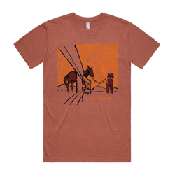 Calexico and Iron & Wine In The Reins T-Shirt- Bingo Merch Official Merchandise Shop Official