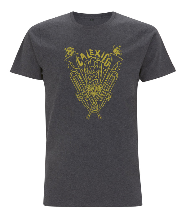 Calexico Trumpet T-shirt T-Shirt- Bingo Merch Official Merchandise Shop Official
