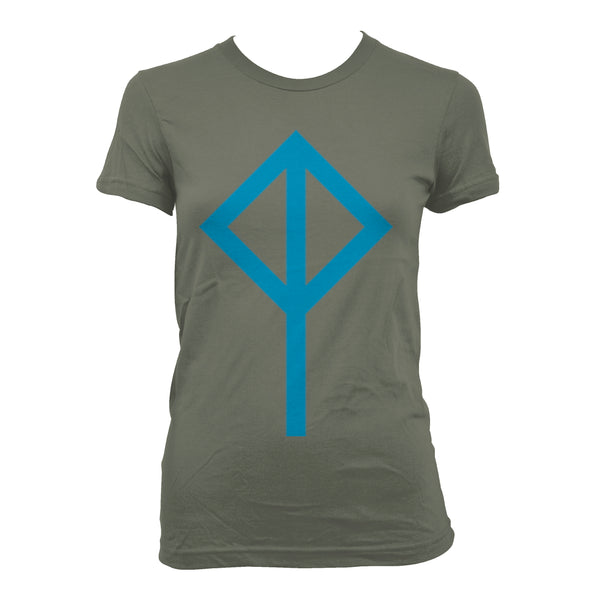 Cat Power Logo Khaki - girls T-Shirt- Bingo Merch Official Merchandise Shop Official