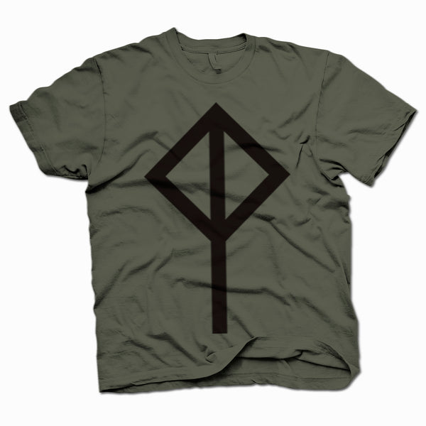 Cat Power Logo Khaki T-Shirt- Bingo Merch Official Merchandise Shop Official