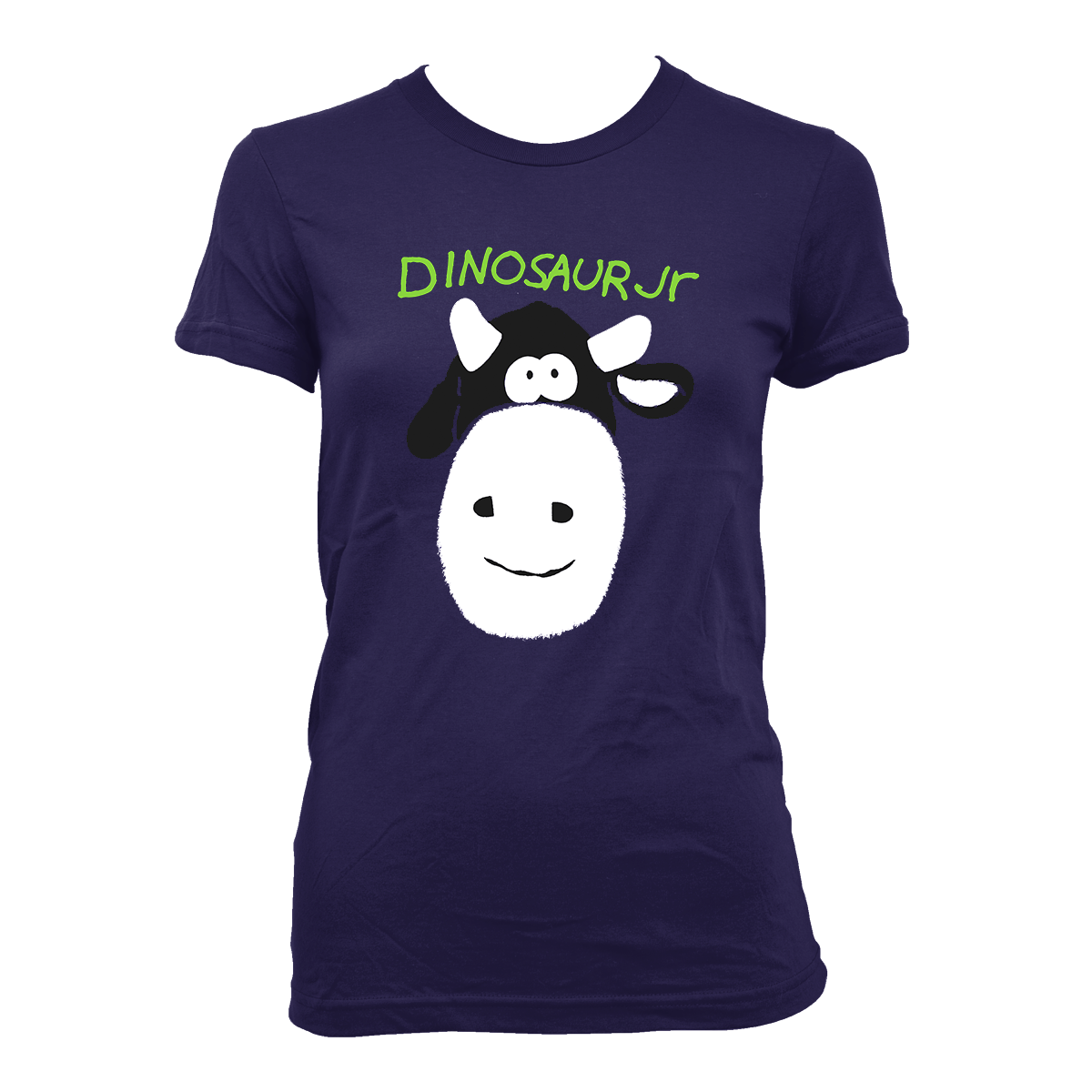 Dinosaur Jr. Cow - Girls T-Shirt- Bingo Merch Official Merchandise Shop Official