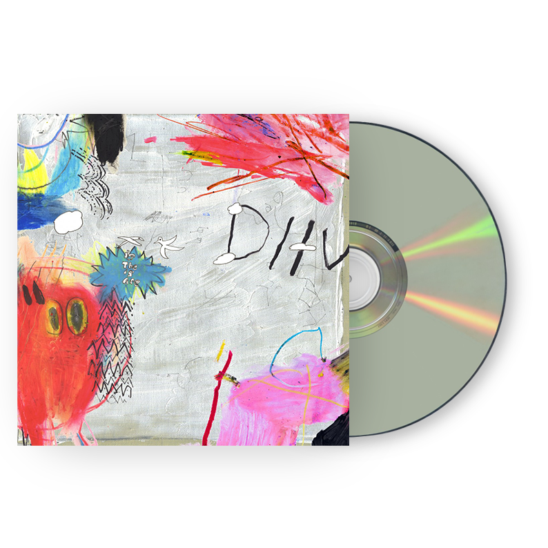 DIIV Is The Is Are CD CD- Bingo Merch Official Merchandise Shop Official