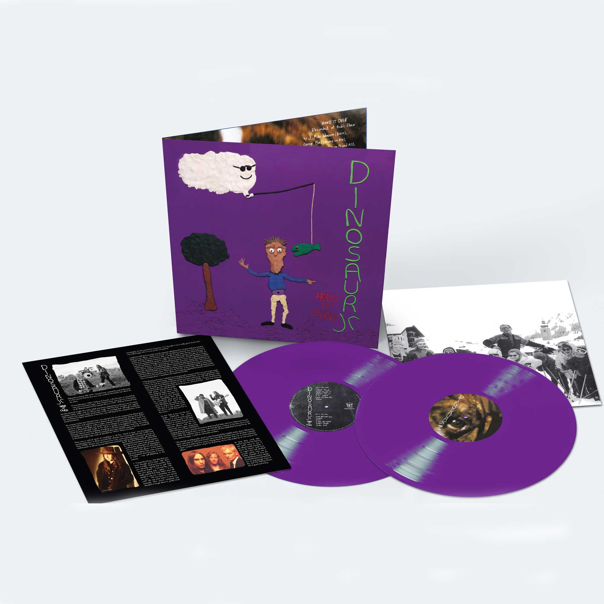 Hand It Over - Deluxe Expanded Edition, Double Gatefold Purple Vinyl LP