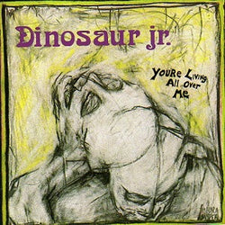 Dinosaur Jr. You're Living All Over Me CD CD- Bingo Merch Official Merchandise Shop Official