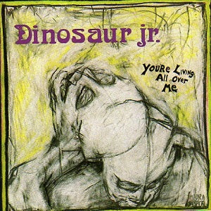 Dinosaur Jr album Yr Living All Over Me on CD from Bingo Merch