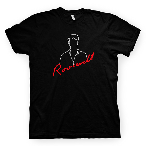 Roosevelt Drawing T-Shirt T-Shirt- Bingo Merch Official Merchandise Shop Official
