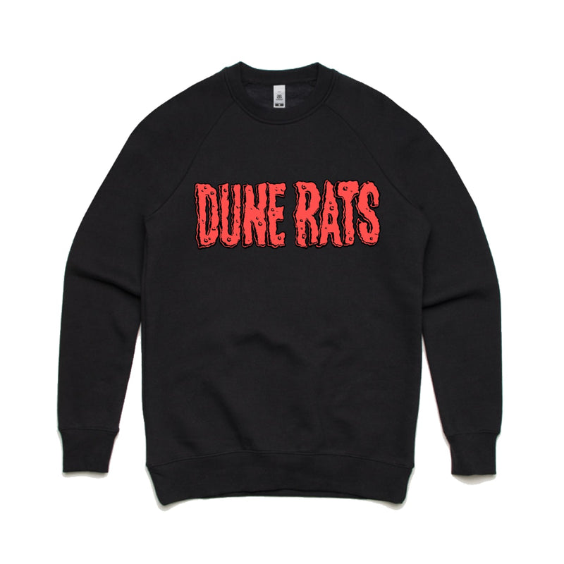 Dune Rats Cheese Logo Sweatshirt - Bingo Merch Official Merchandise Shop Official