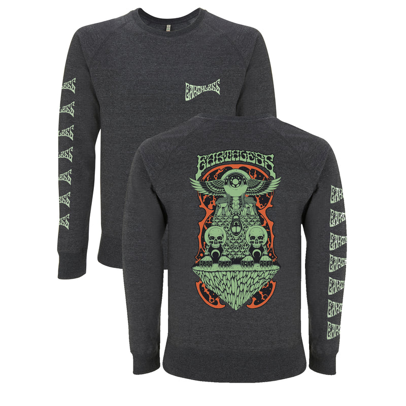 Earthless Throne Sweatshirt Sweatshirt- Bingo Merch Official Merchandise Shop Official