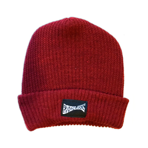 Knit Hat Red