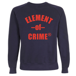 Element Of Crime Logo Sweatshirt Sweatshirt- Bingo Merch Official Merchandise Shop Official