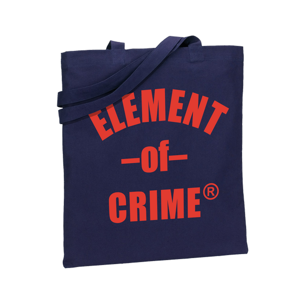 Element Of Crime Logo Totebag - navy Totebag- Bingo Merch Official Merchandise Shop Official