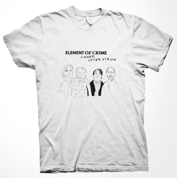 Element Of Crime Immer Unter Strom T-Shirt- Bingo Merch Official Merchandise Shop Official