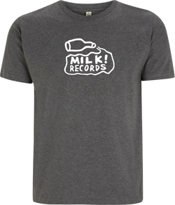 Courtney Barnett Milk Records Dark Grey T-Shirt- Bingo Merch Official Merchandise Shop Official