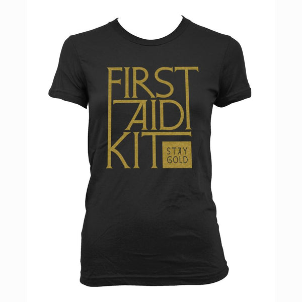 First Aid Kit Stay Gold Girls T-shirt T shirt- Bingo Merch Official Merchandise Shop Official