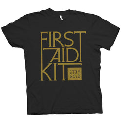 First Aid Kit Stay Gold T-shirt T shirt- Bingo Merch Official Merchandise Shop Official