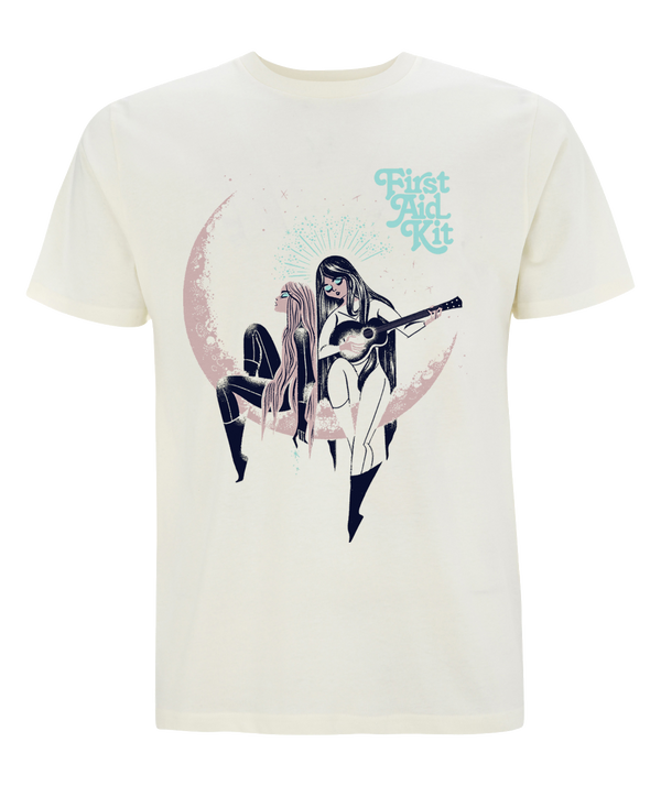 First Aid Kit Moon T-shirt T shirt- Bingo Merch Official Merchandise Shop Official