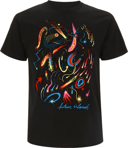 Future Islands Comets T-Shirt- Bingo Merch Official Merchandise Shop Official