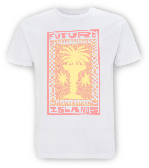Future Islands Palm T-Shirt- Bingo Merch Official Merchandise Shop Official