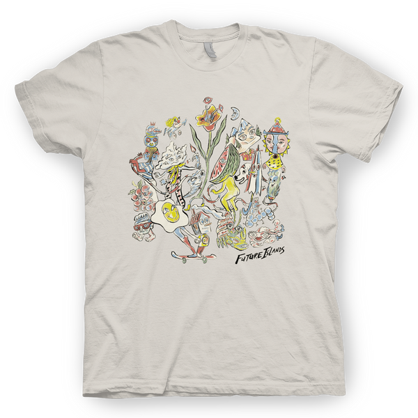 Future Islands Russ T-Shirt- Bingo Merch Official Merchandise Shop Official