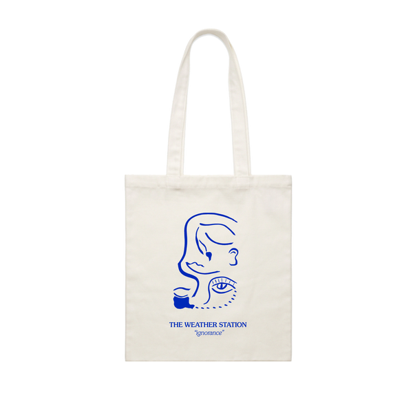 Blue Face Totebag