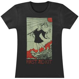 First Aid Kit Fool - Girl's T shirt- Bingo Merch Official Merchandise Shop Official