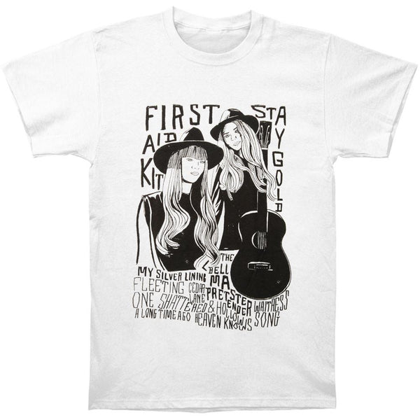 First Aid Kit Woodcut T shirt- Bingo Merch Official Merchandise Shop Official