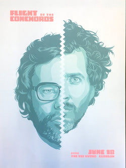 Flight of the Conchords Faces Poster Glasgow Poster- Bingo Merch Official Merchandise Shop Official