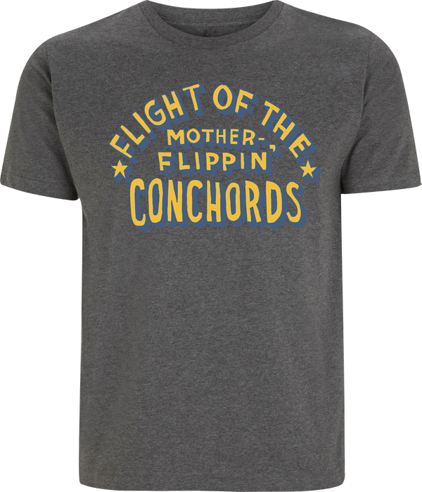Flight of the Conchords Motherflippin T-Shirt- Bingo Merch Official Merchandise Shop Official
