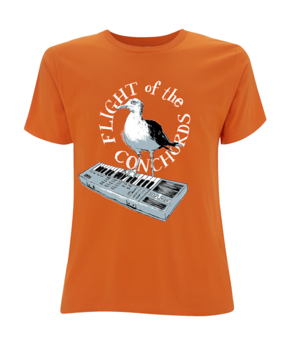 Flight of the Conchords Seagull - girls T-Shirt- Bingo Merch Official Merchandise Shop Official