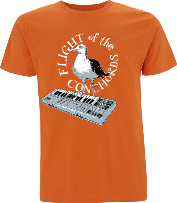 Flight of the Conchords Seagull T-Shirt- Bingo Merch Official Merchandise Shop Official