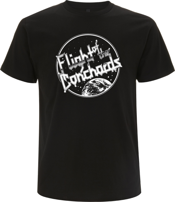 Flight of the Conchords Space Theme T-Shirt- Bingo Merch Official Merchandise Shop Official