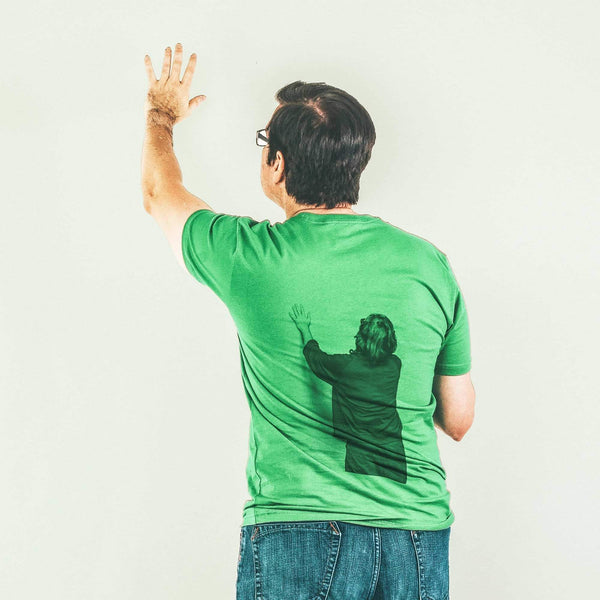 Father John Misty Green Screen T-Shirt- Bingo Merch Official Merchandise Shop Official