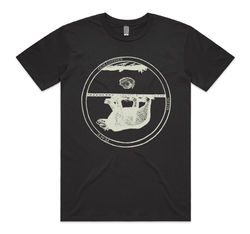 Godspeed You! Black Emperor Bear Charcoal T-Shirt- Bingo Merch Official Merchandise Shop Official