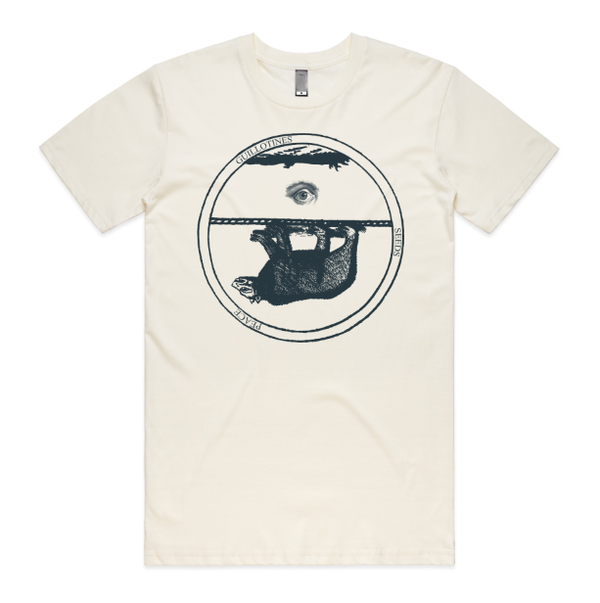 Godspeed You! Black Emperor Bear Creme T-Shirt- Bingo Merch Official Merchandise Shop Official