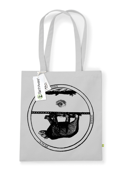 Godspeed You! Black Emperor Bear Totebag Totebag- Bingo Merch Official Merchandise Shop Official