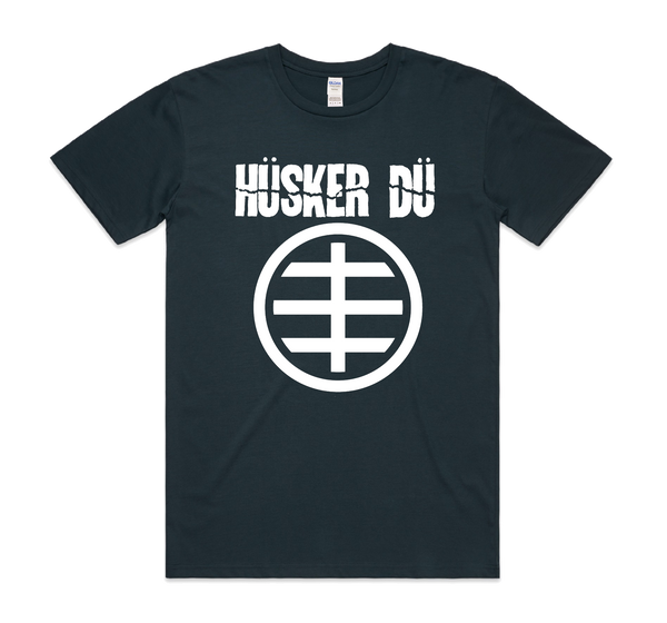 Hüsker Dü Circle Logo T-Shirt- Bingo Merch Official Merchandise Shop Official