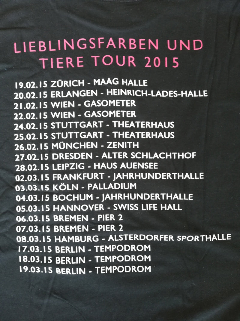 Element Of Crime Lieblingsfarben Tour T-Shirt- Bingo Merch Official Merchandise Shop Official